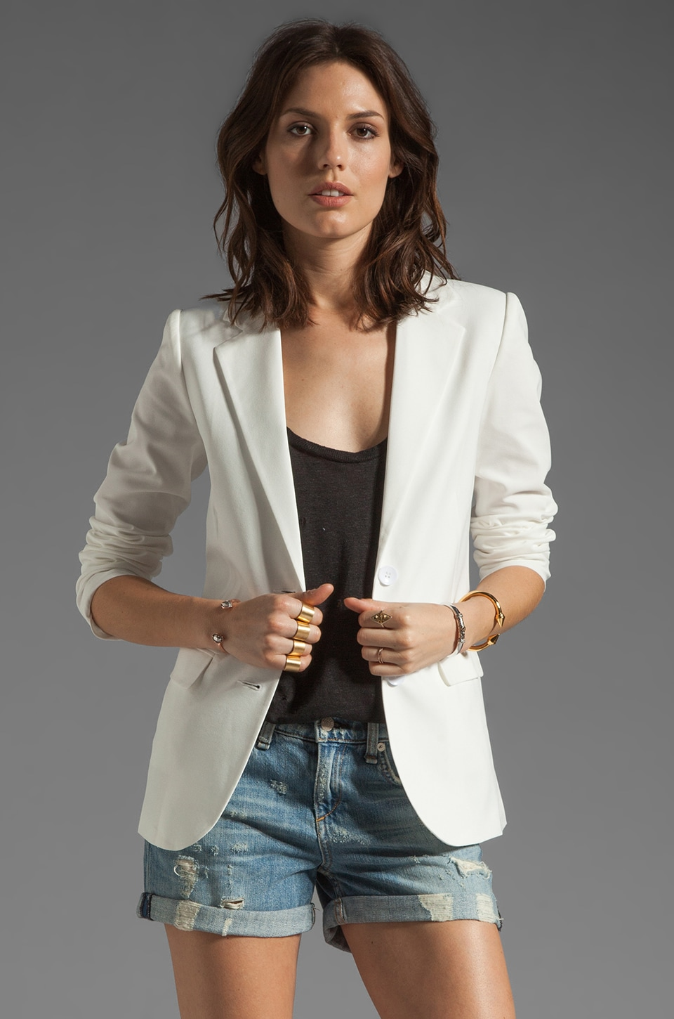 BLAQUE LABEL Blazer in White