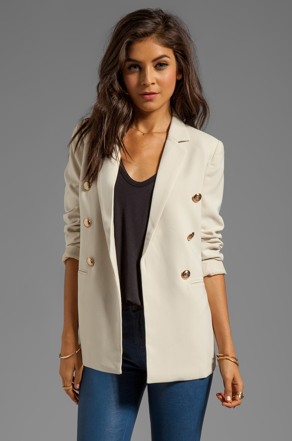 BLAQUE LABEL Jacket in Cream