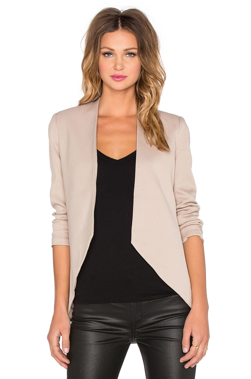 BLAQUE LABEL Sculpted Blazer in Toffee