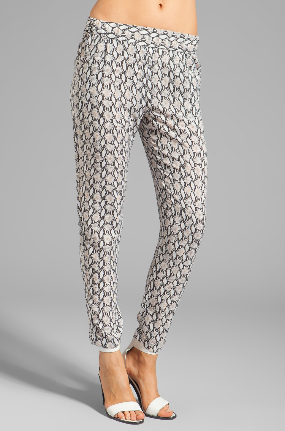 BLAQUE LABEL Pants in Snake Print