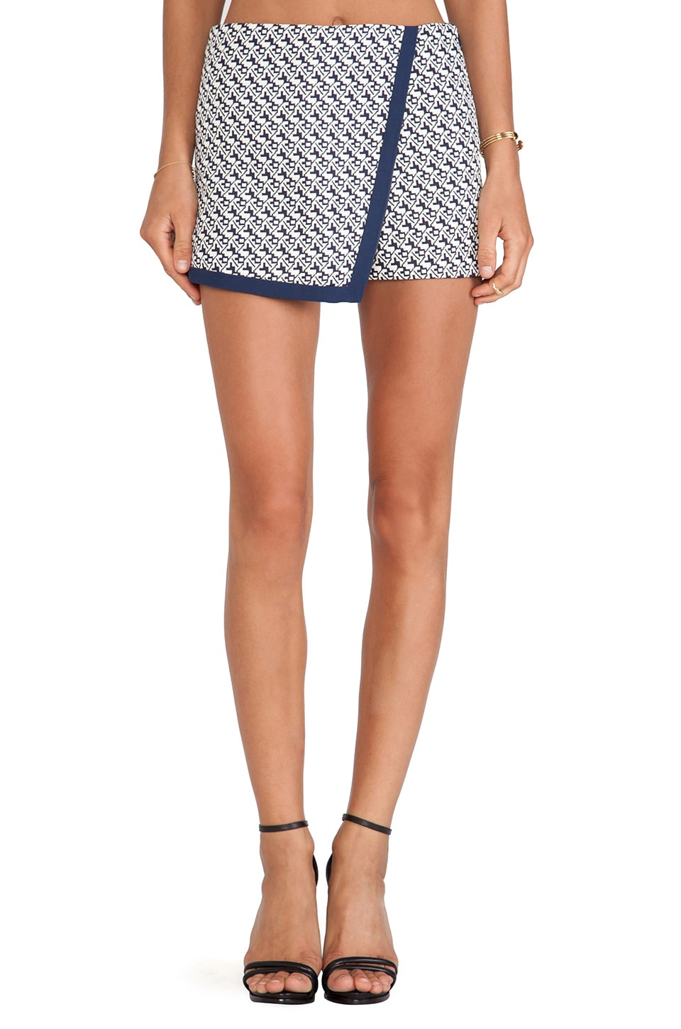 BLAQUE LABEL Mini Skirt in Navy