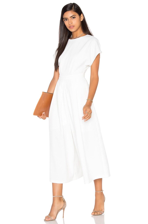 BLAQUE LABEL Wide Legged Jumpsuit in White