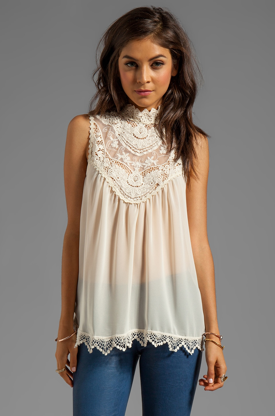 BLAQUE LABEL Barque Blouse in Cream