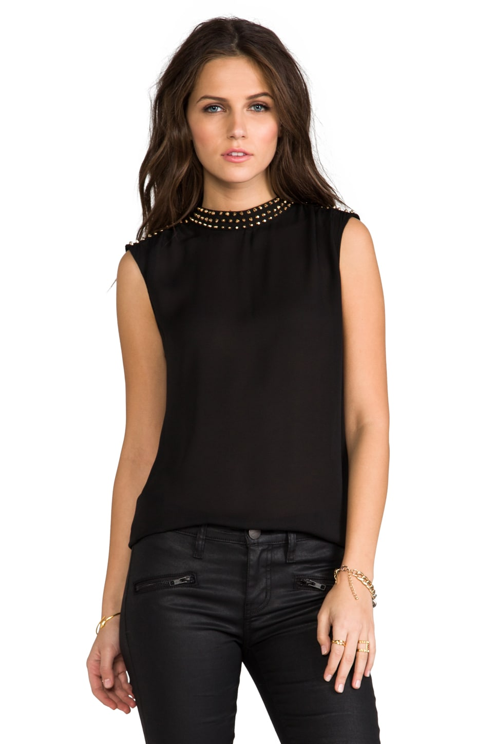 BLAQUE LABEL Top in Black