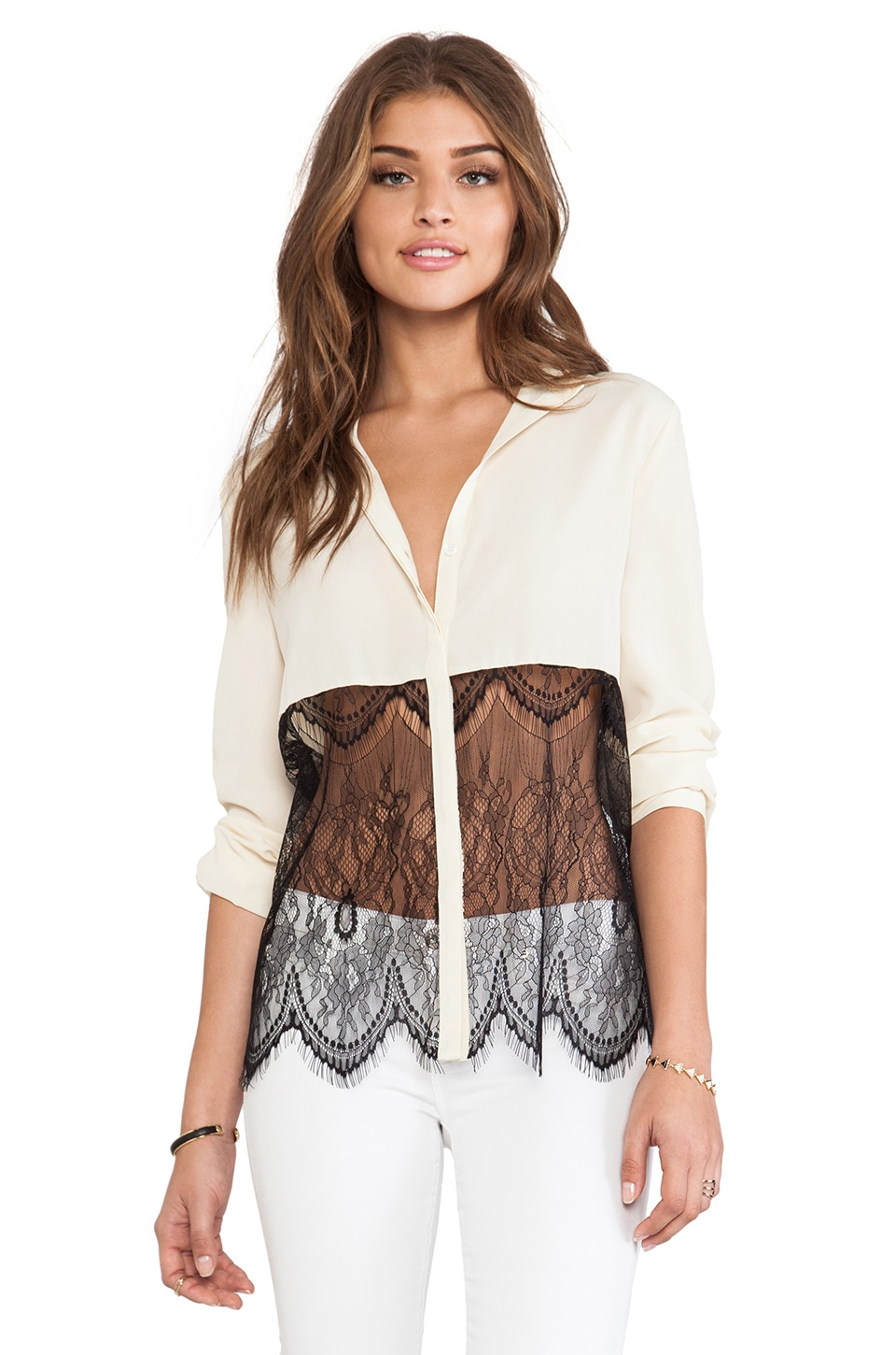 BLAQUE LABEL Blouse in Beige