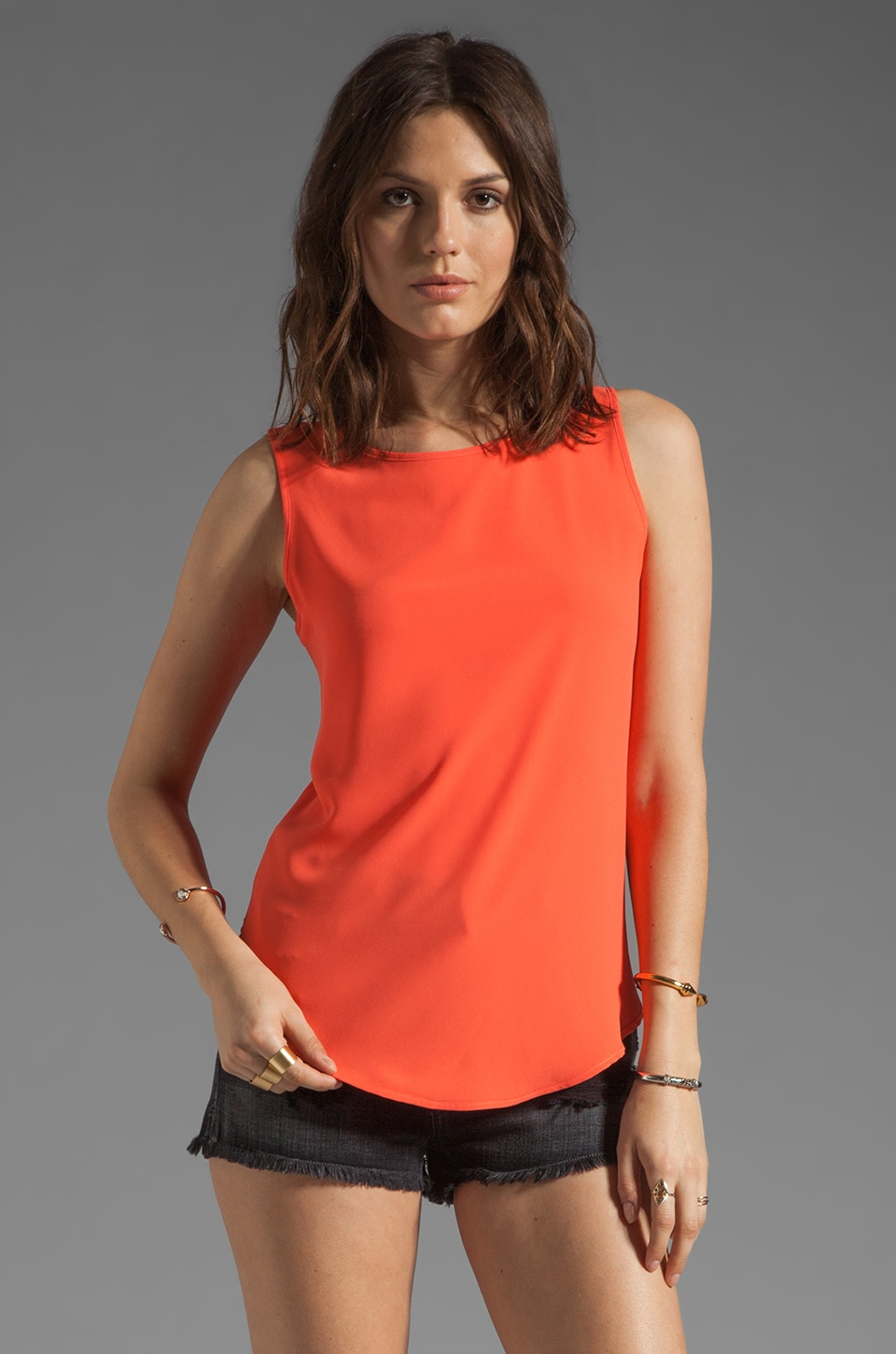 BLAQUE LABEL Sleeveless Top in Coral