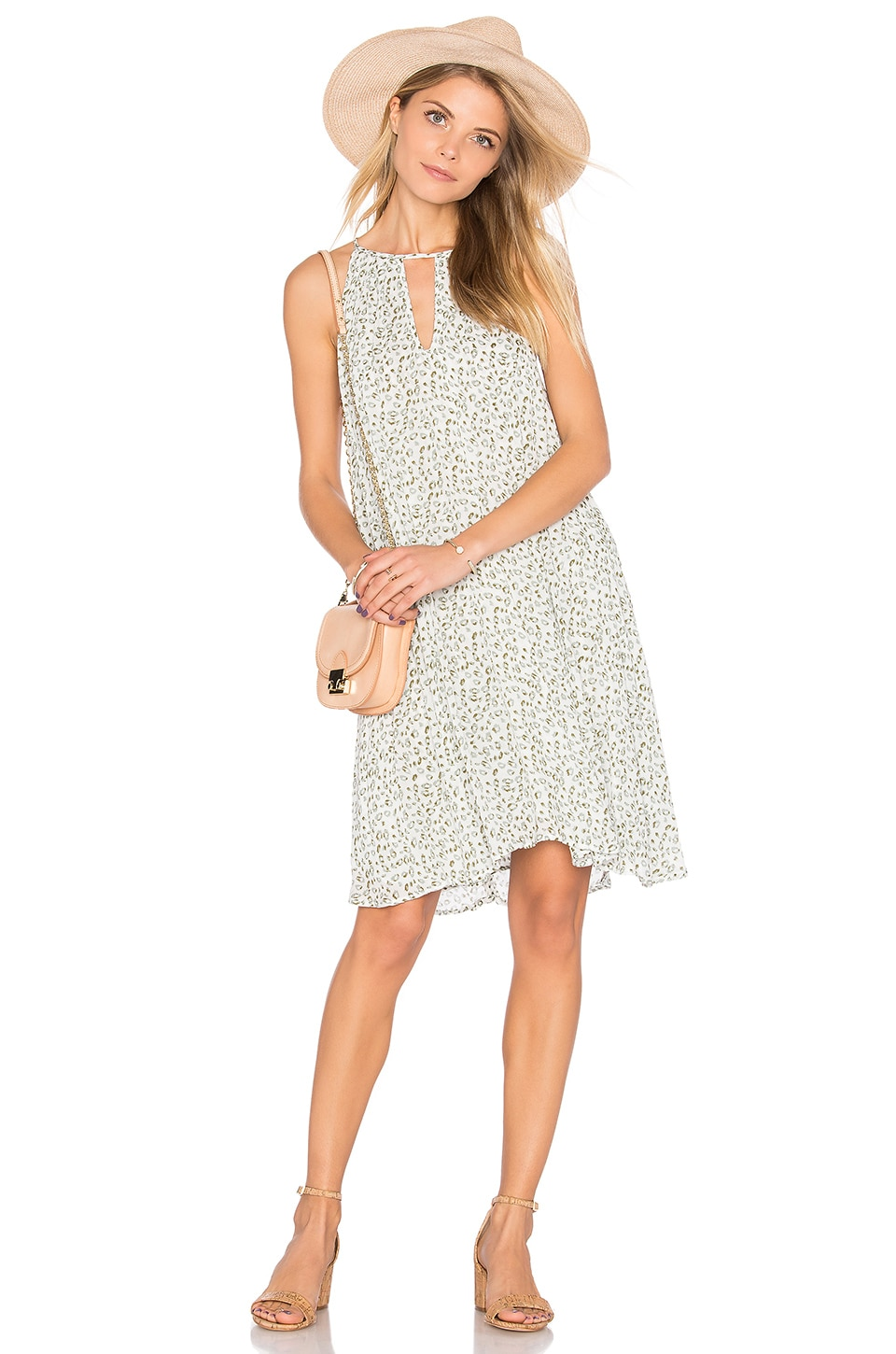 Handkerchief Halter Dress by Bella Dahl