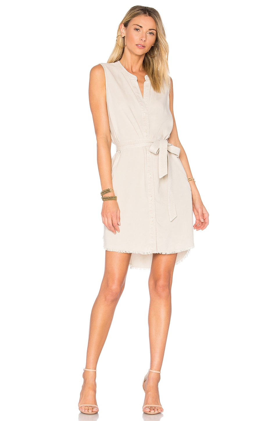 Belted Shirt Dress by Bella Dahl