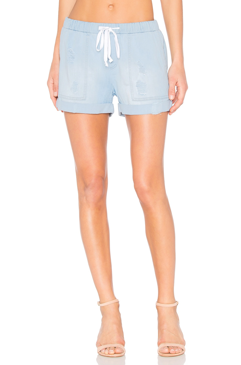 Bella Dahl Easy Pocket Short in Desert Oasis Wash