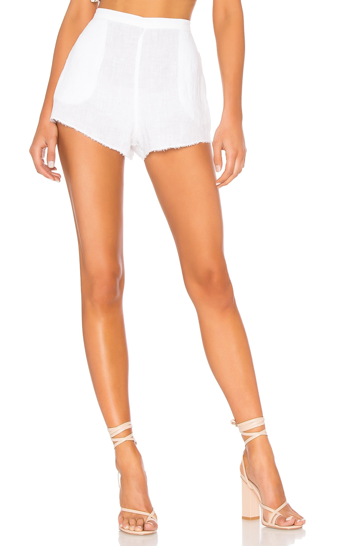 Bella Dahl High Waisted Short in White