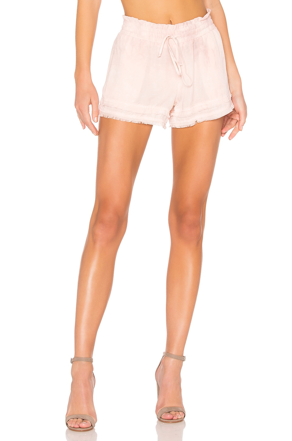 Bella Dahl Frayed Flowy Short en Serie Rose