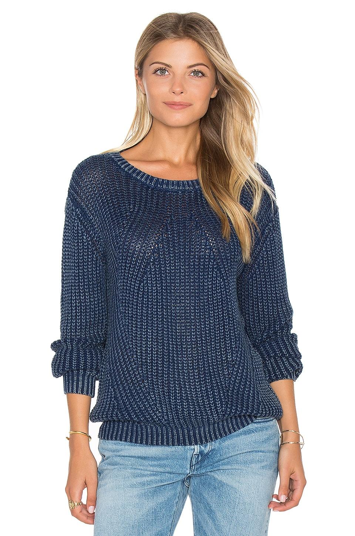 Distressed Dye Sweater by Bella Dahl