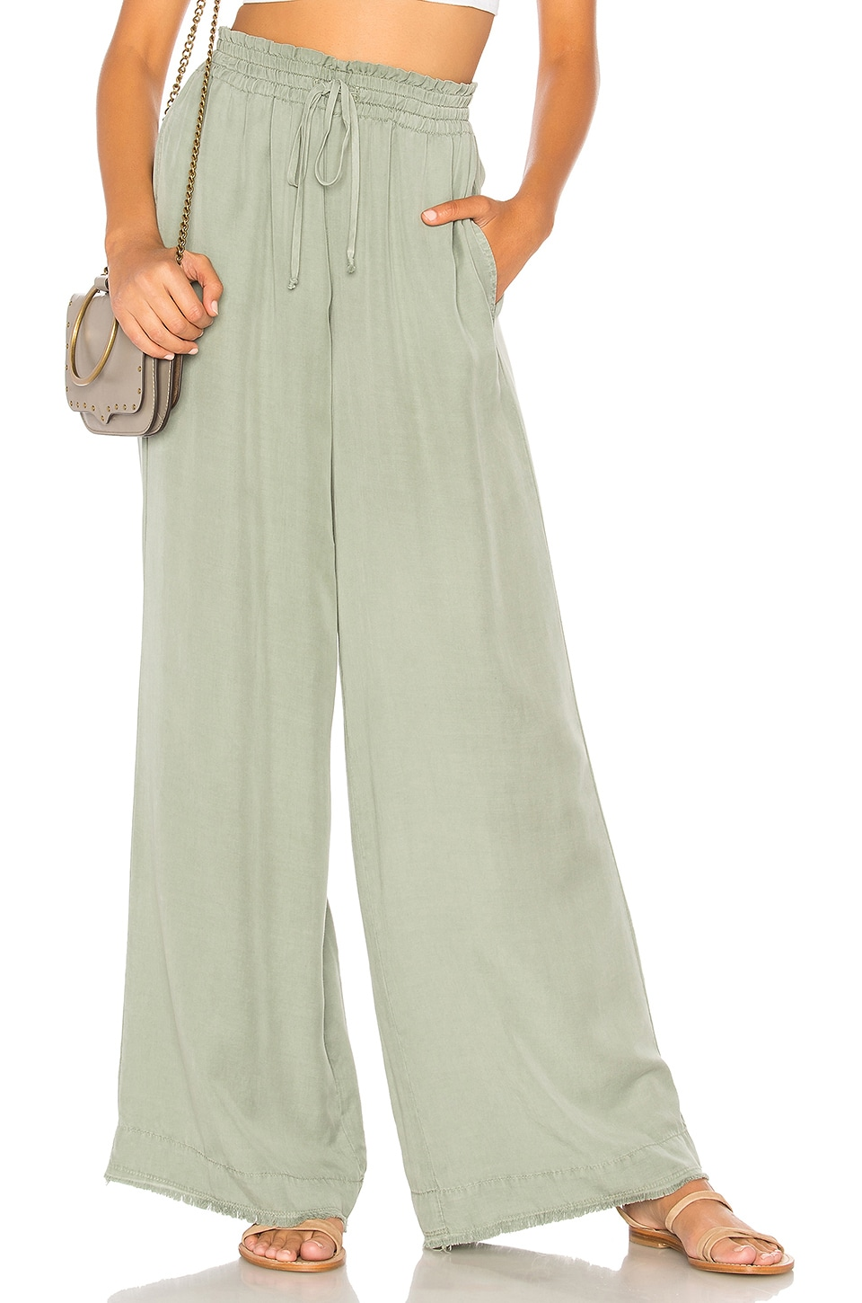 Easy Pull On Wide Leg Pant