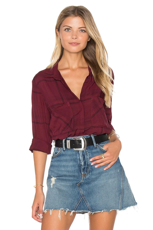 Bella dahl hipster plaid shirt for Bella dahl plaid shirt