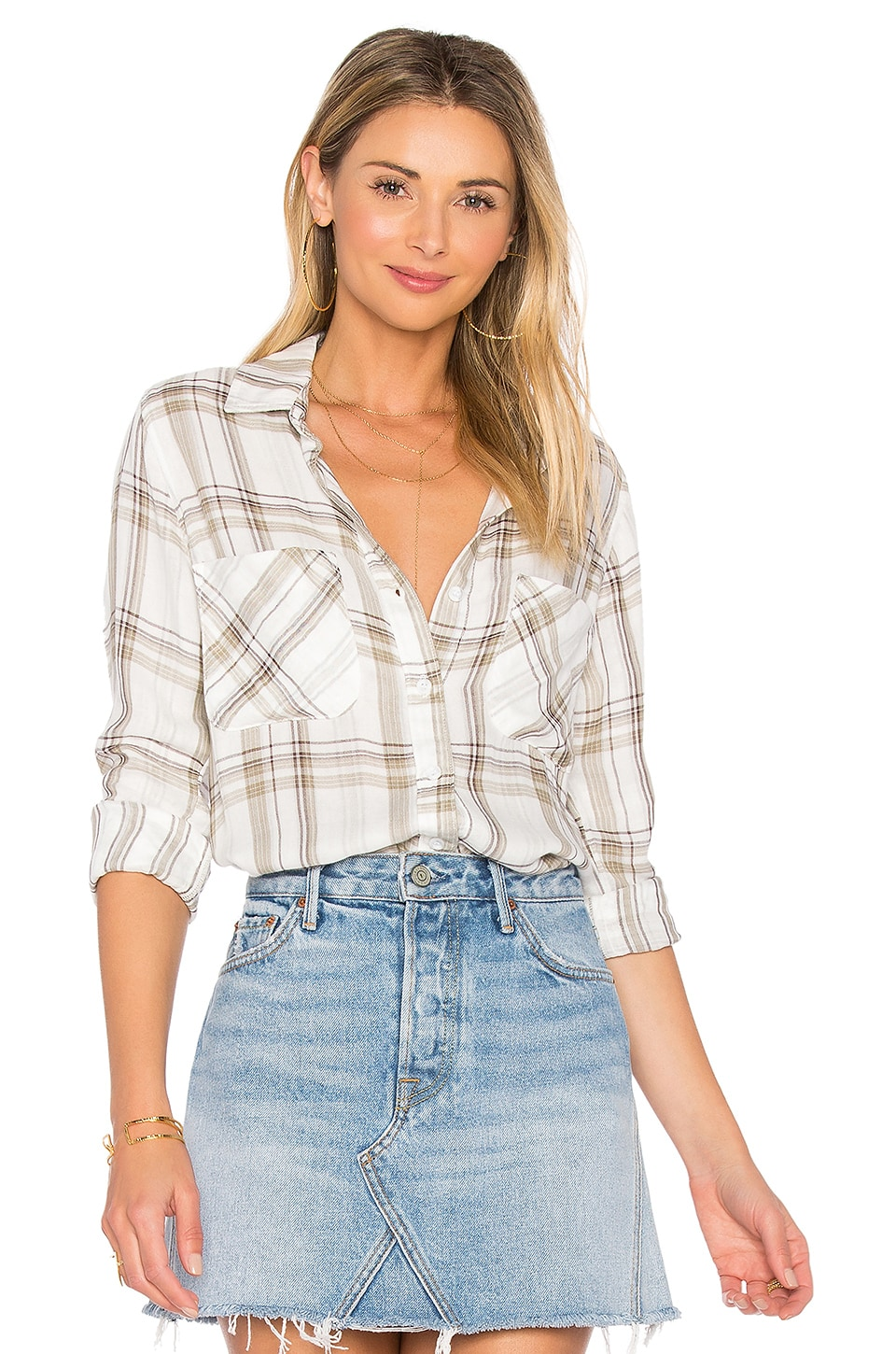 Two Pocket Button Down by Bella Dahl