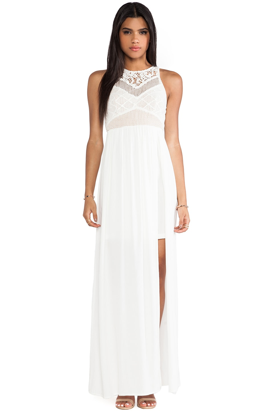 bless'ed are the meek Endless Summer Dress in Ivory