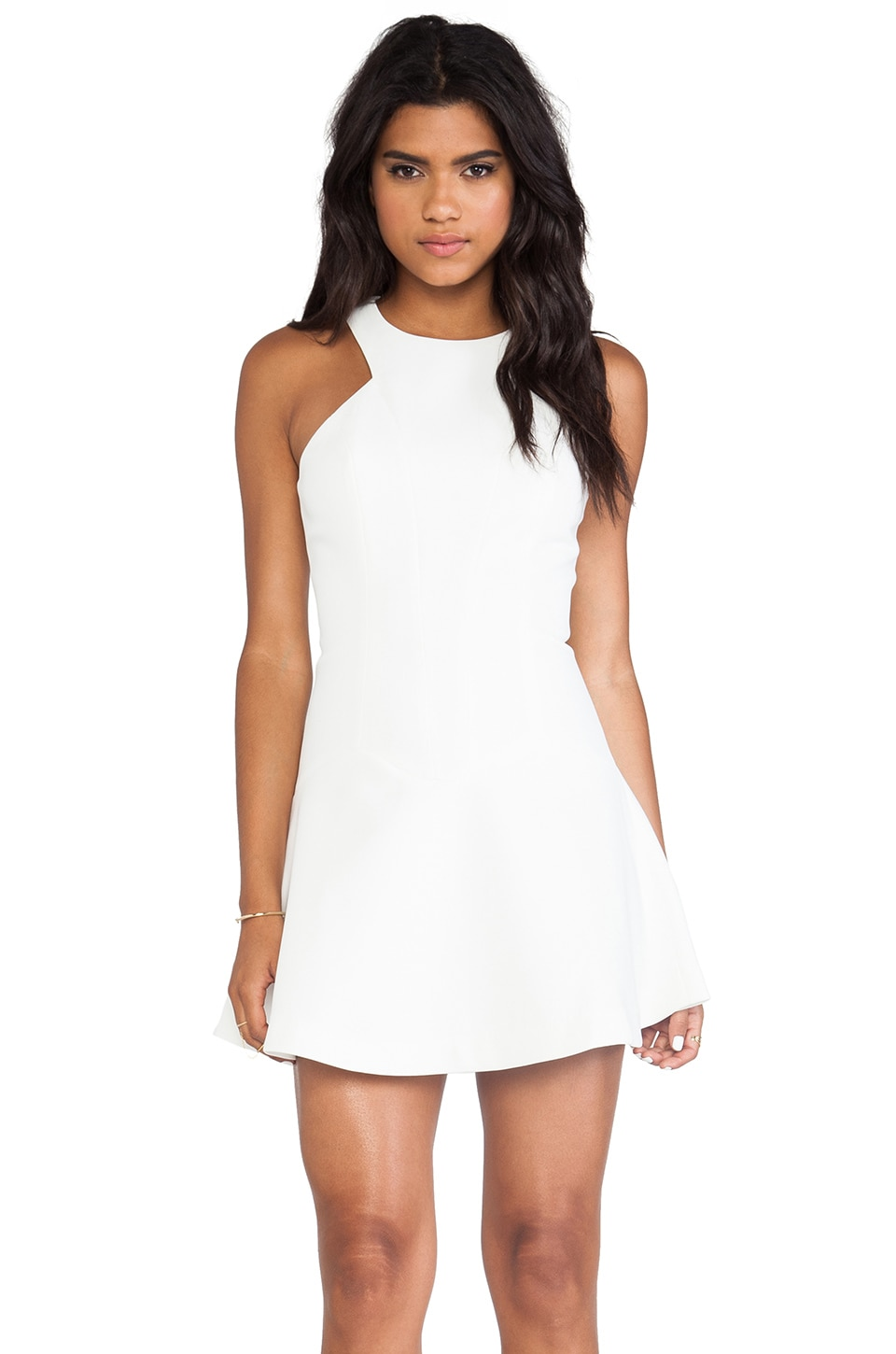 bless'ed are the meek Distortion Dress in Ivory