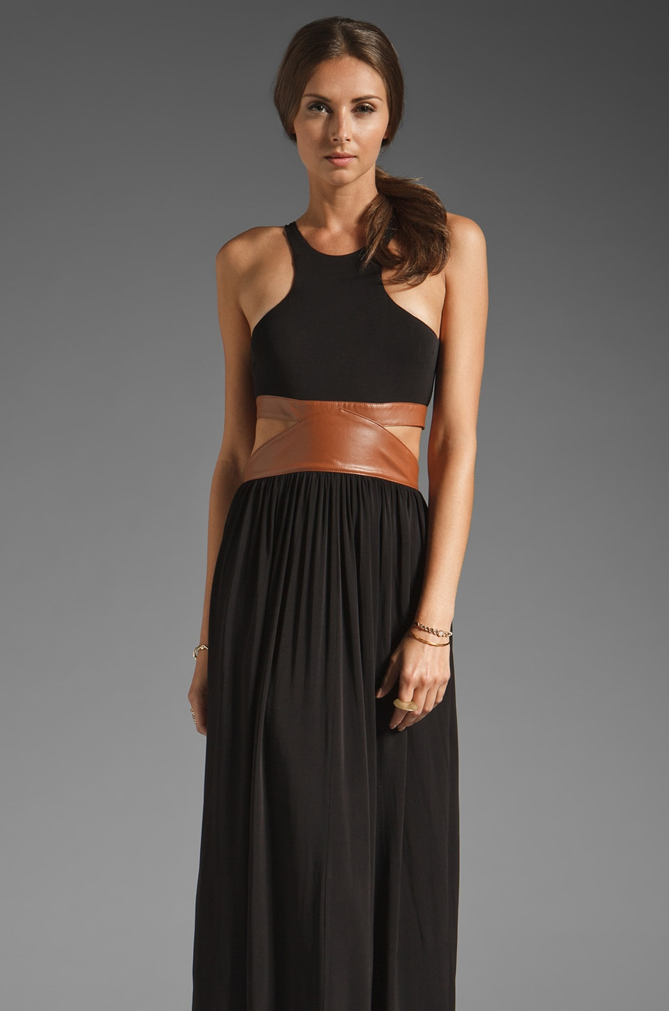 bless'ed are the meek Wine & Dine Dress in Black