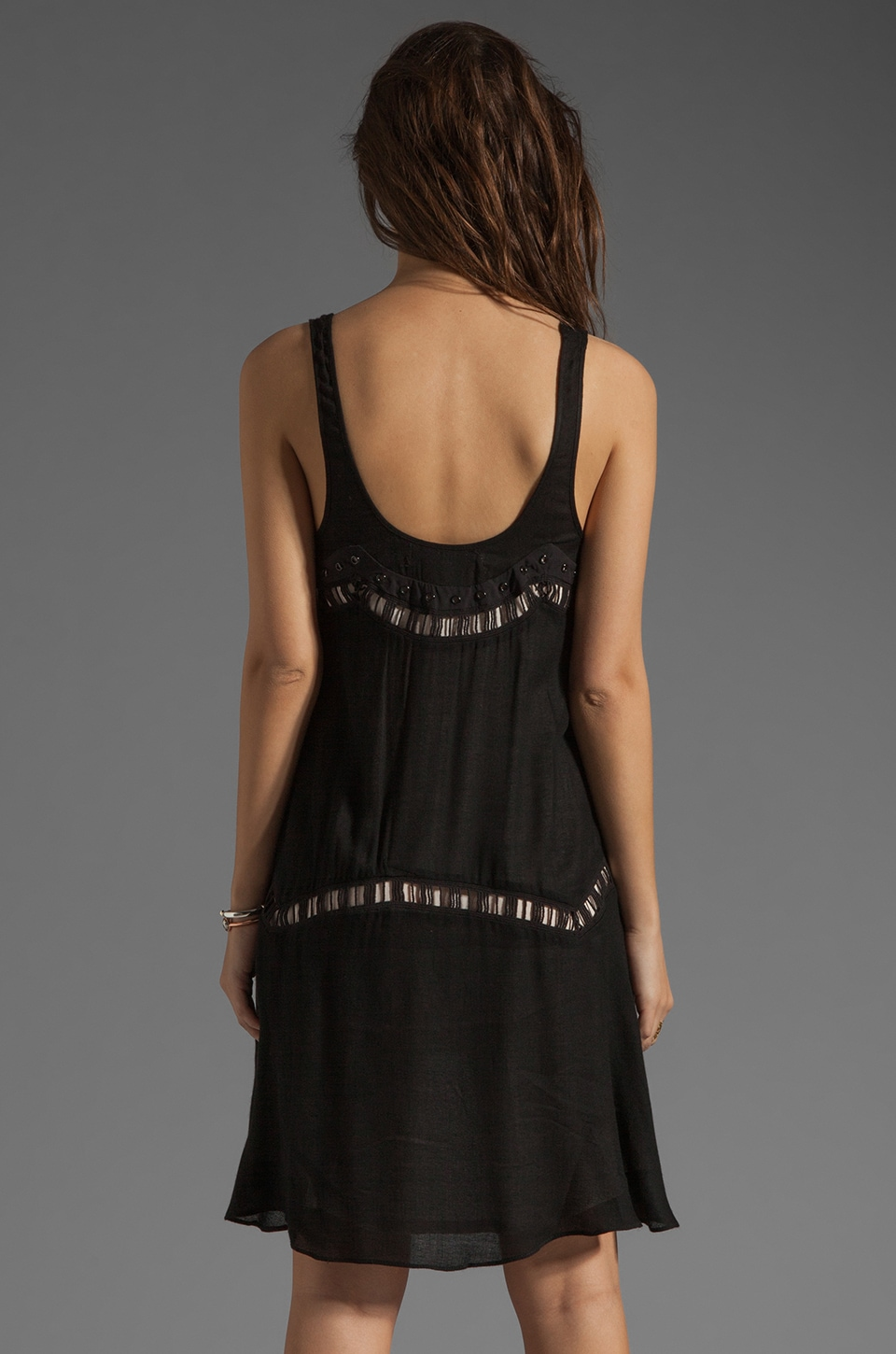 bless'ed are the meek Straight To The Point Dress in Black