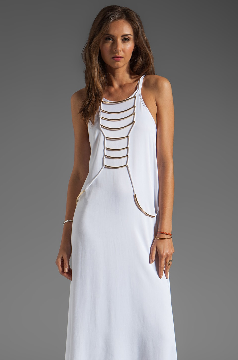 bless'ed are the meek Ritual Maxi Dress in Ivory