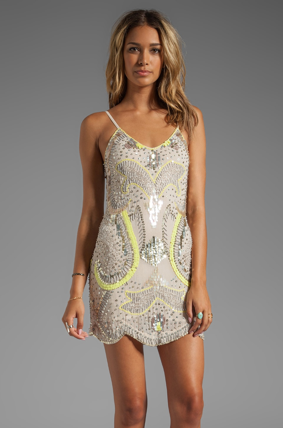 bless'ed are the meek Neon Nights Dress in Multi