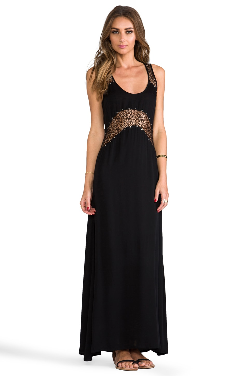 bless'ed are the meek Tracker Maxi in Black
