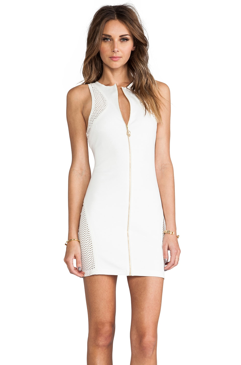 bless'ed are the meek Shell Dress in Ivory