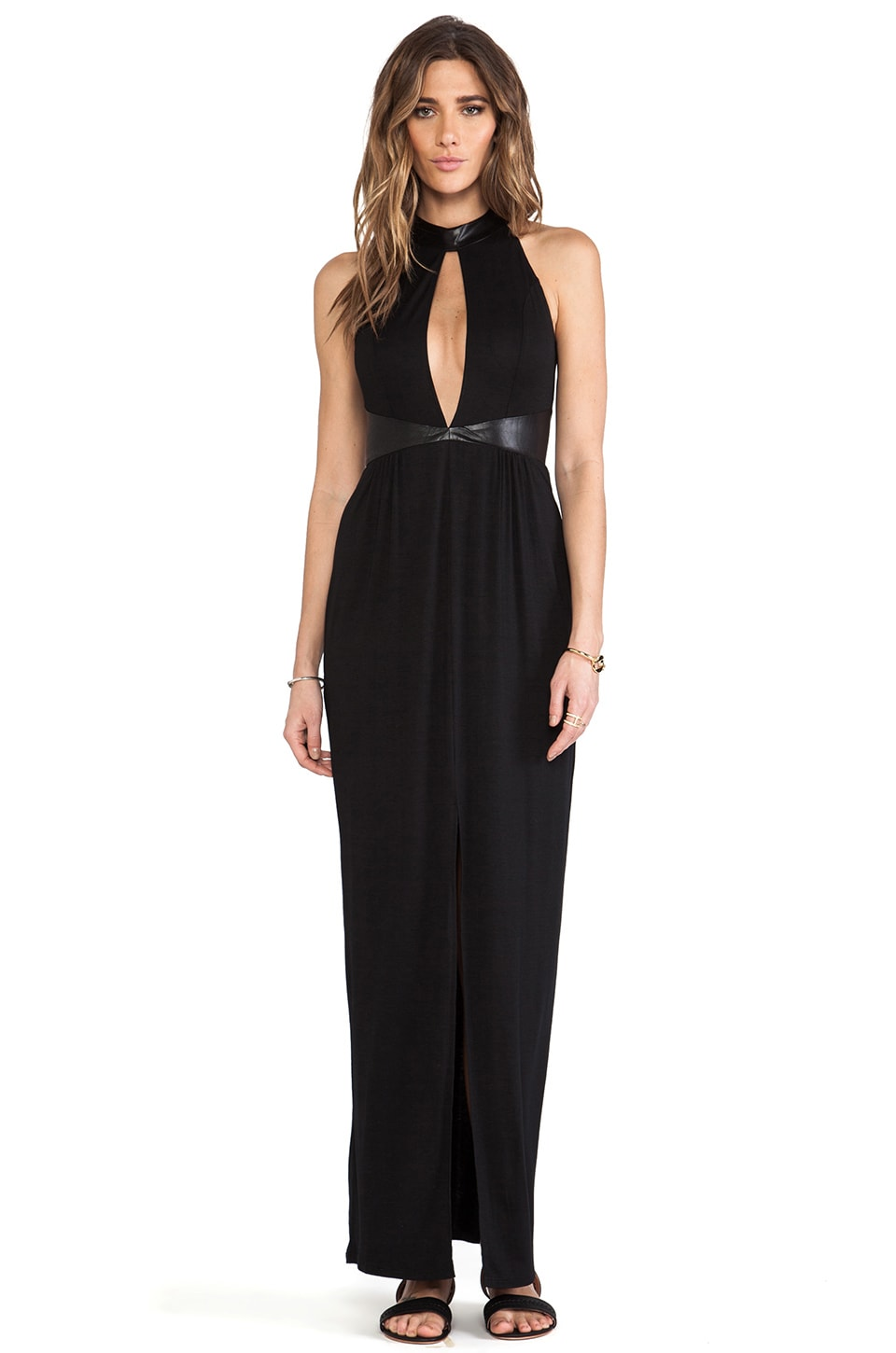 bless'ed are the meek Points Maxi in Black