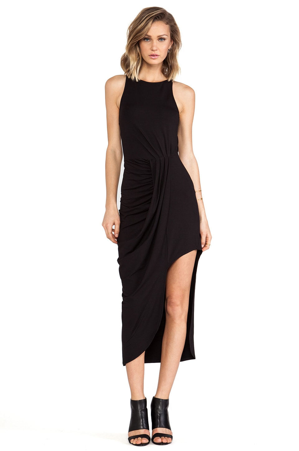 bless'ed are the meek Flow Dress in Black
