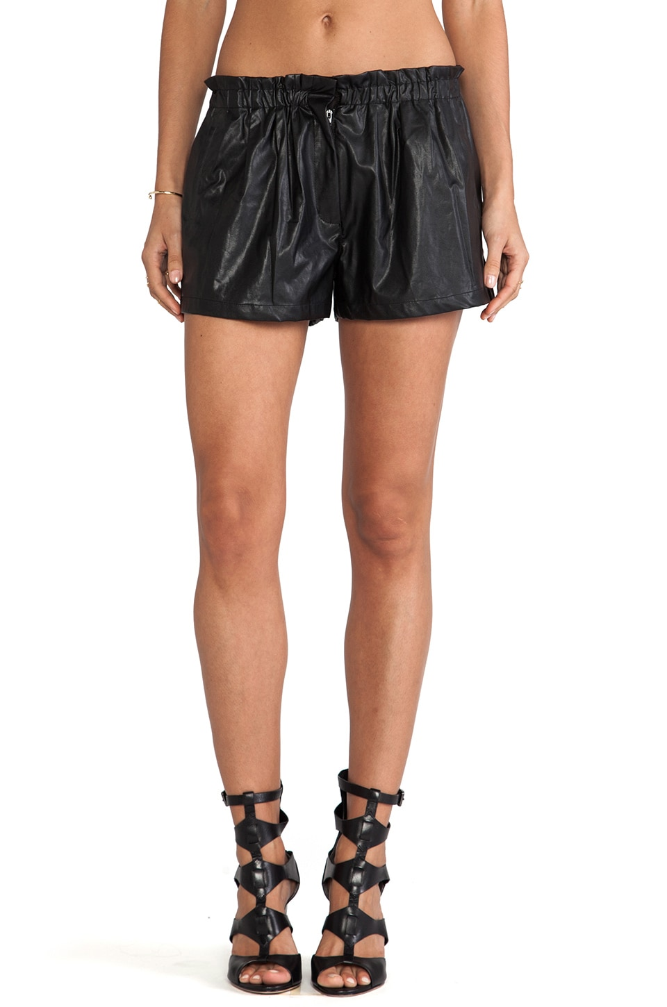 bless'ed are the meek Elixir Short in Black