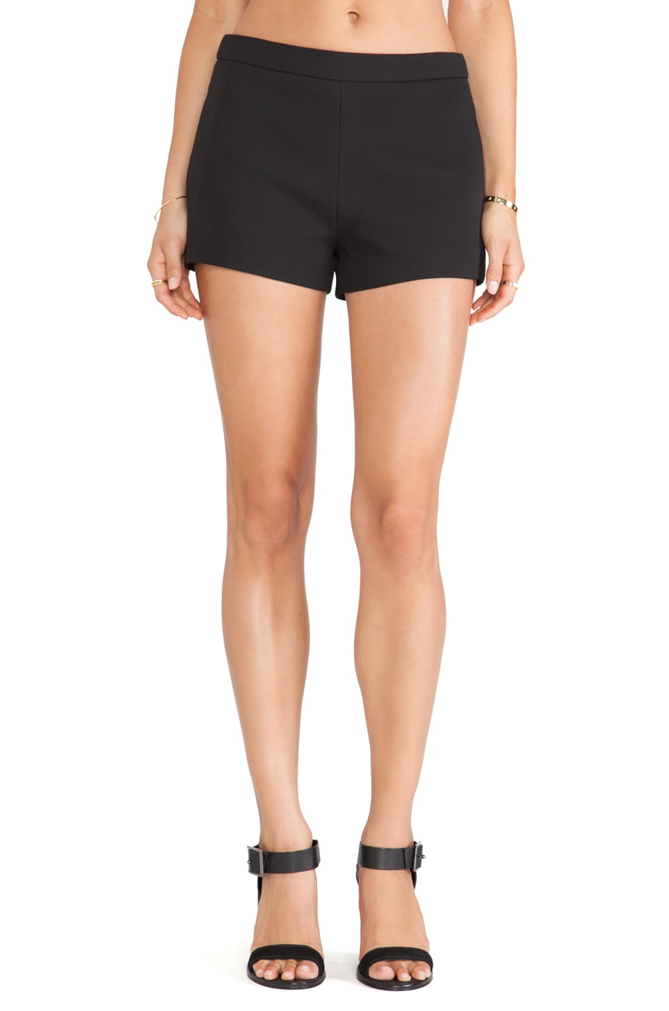bless'ed are the meek Warp Short in Black