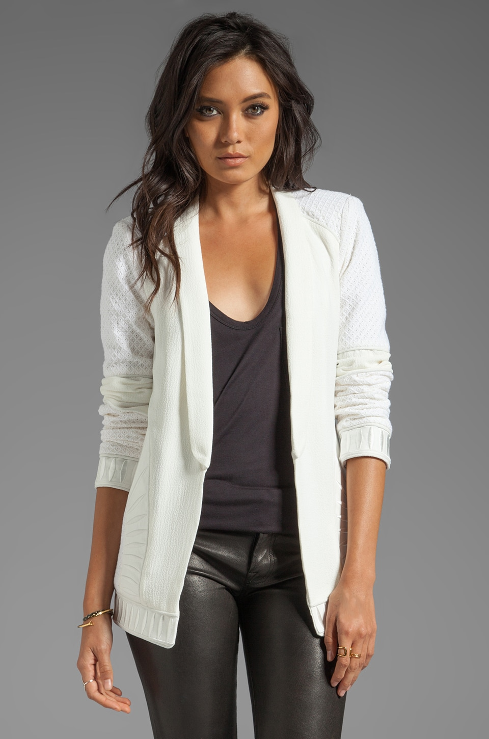 bless'ed are the meek Blade Jacket in Ivory