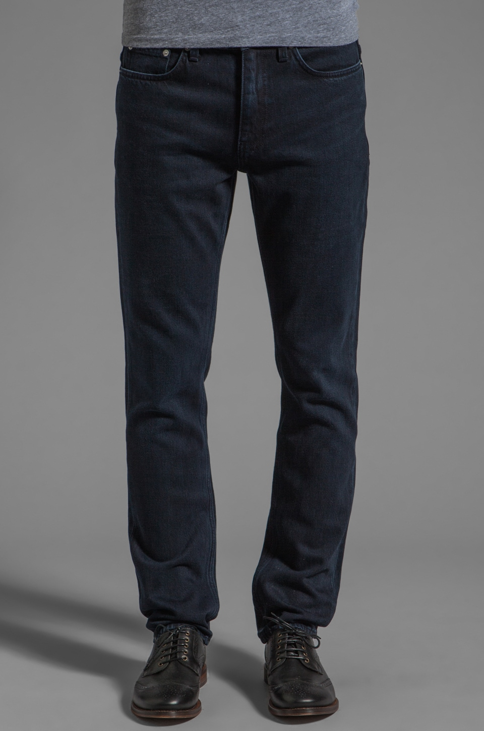 BLK DNM Jeans 5 in Worth Blue