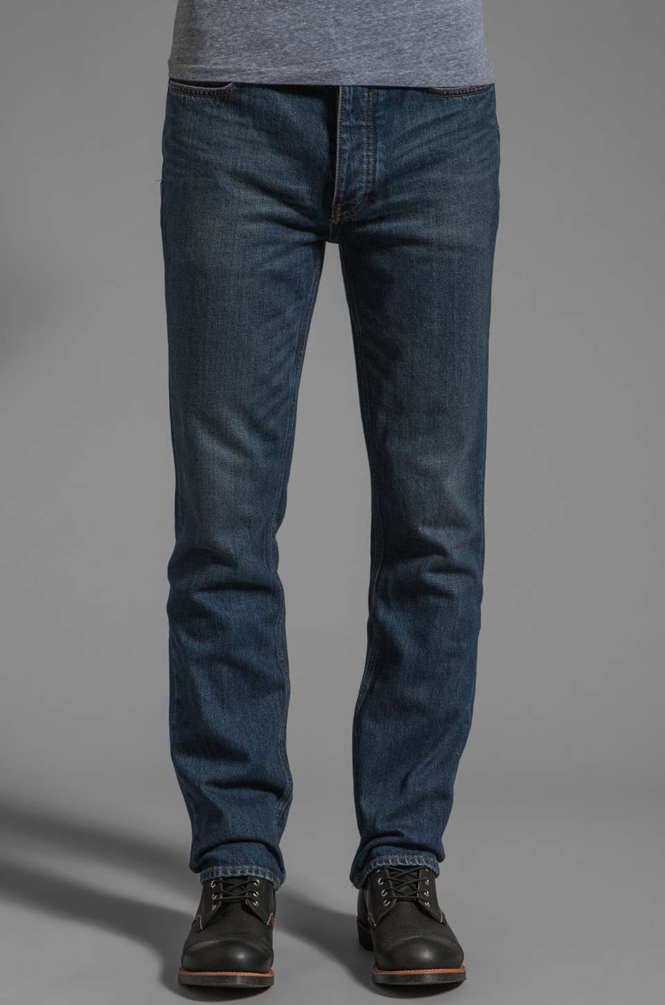 BLK DNM Jeans 9 32 Inseam in Duane Blue