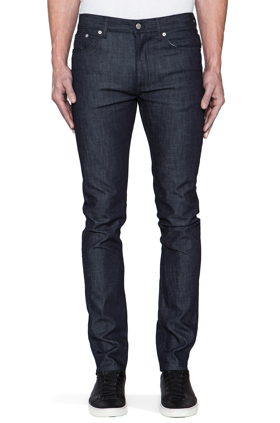 BLK DNM Jeans 25 in Whitehall Blue