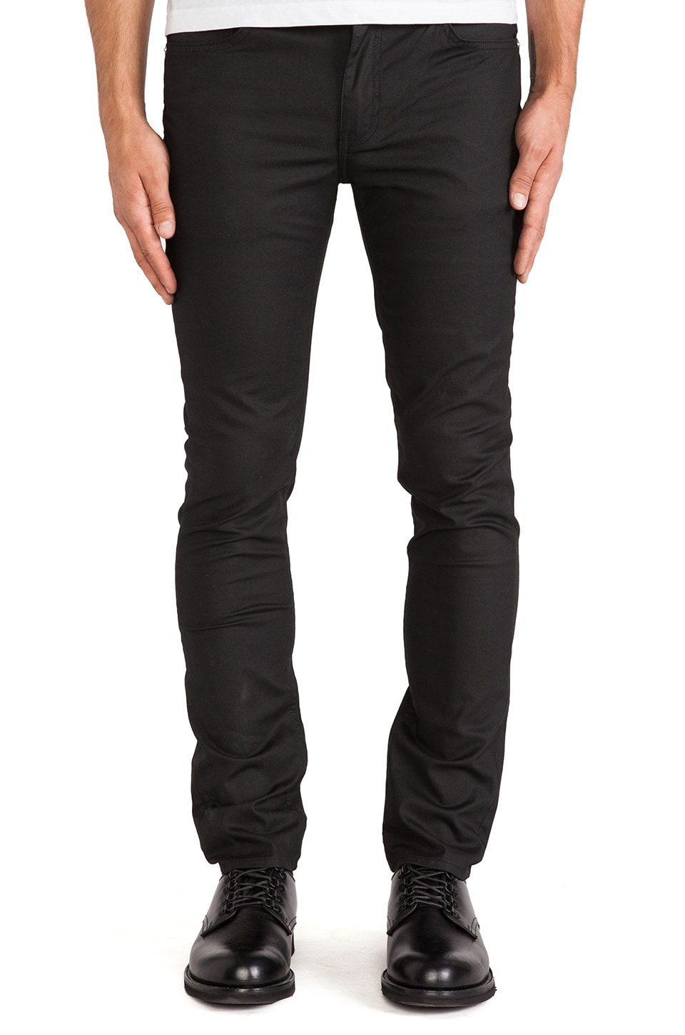BLK DNM Jeans 25 in Orchard Black
