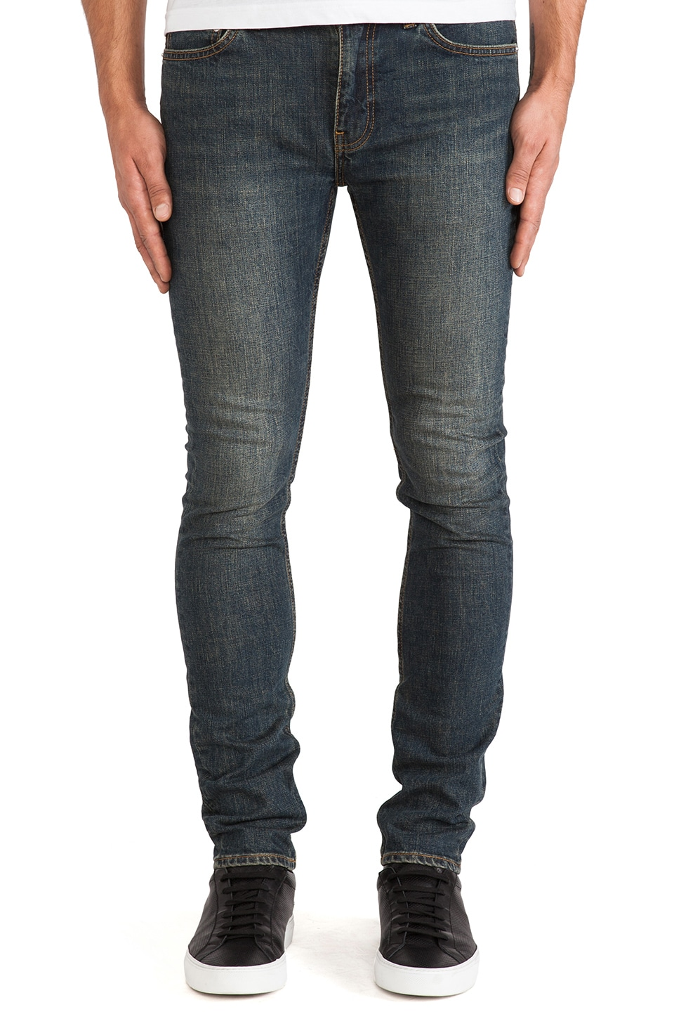 BLK DNM Jeans 25 in Hunts Blue