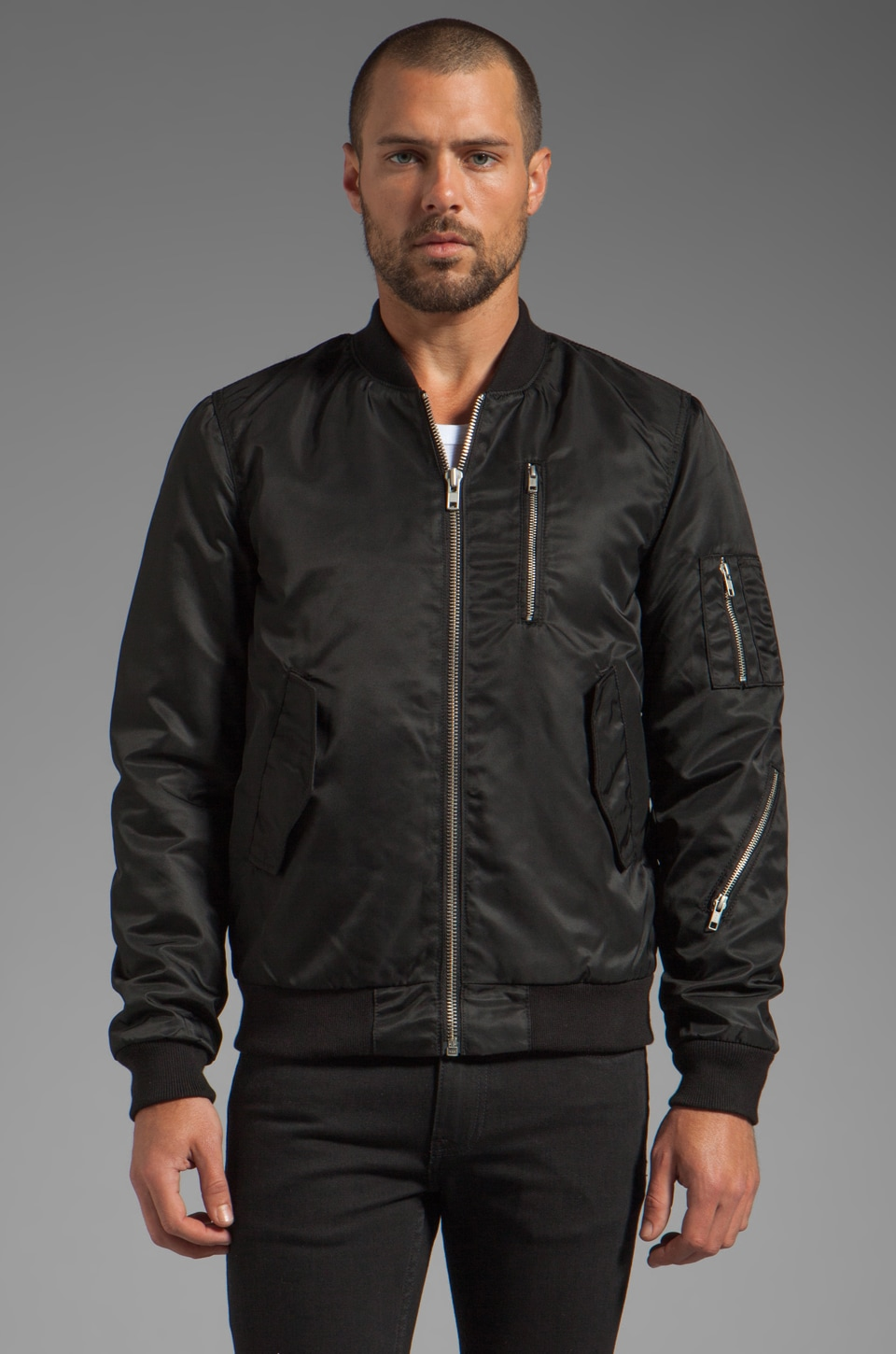 BLK DNM Jacket 45 in Black