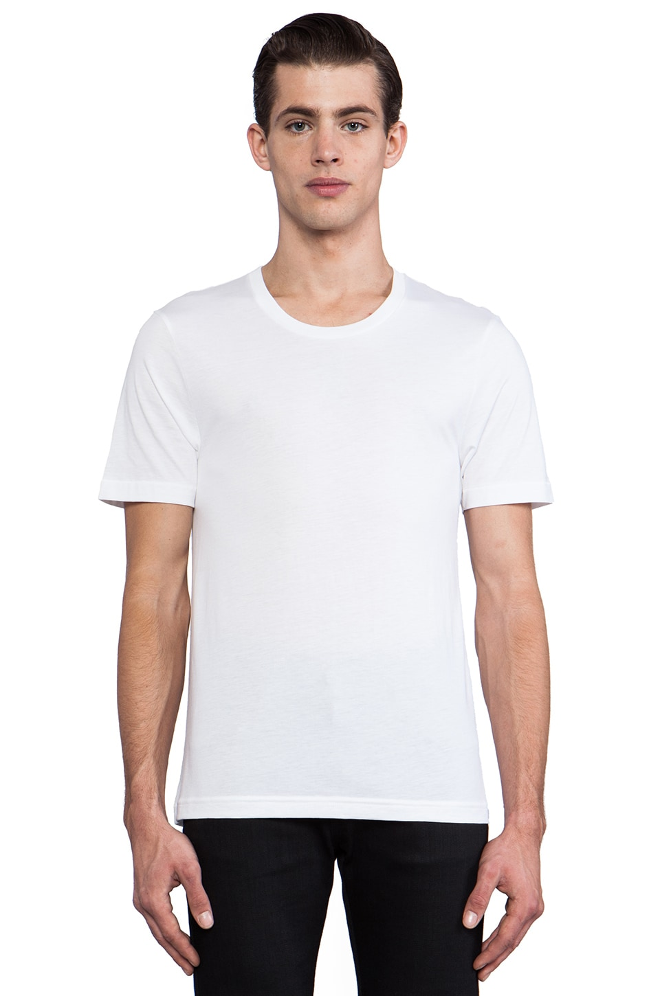 BLK DNM T-Shirt 3 in White