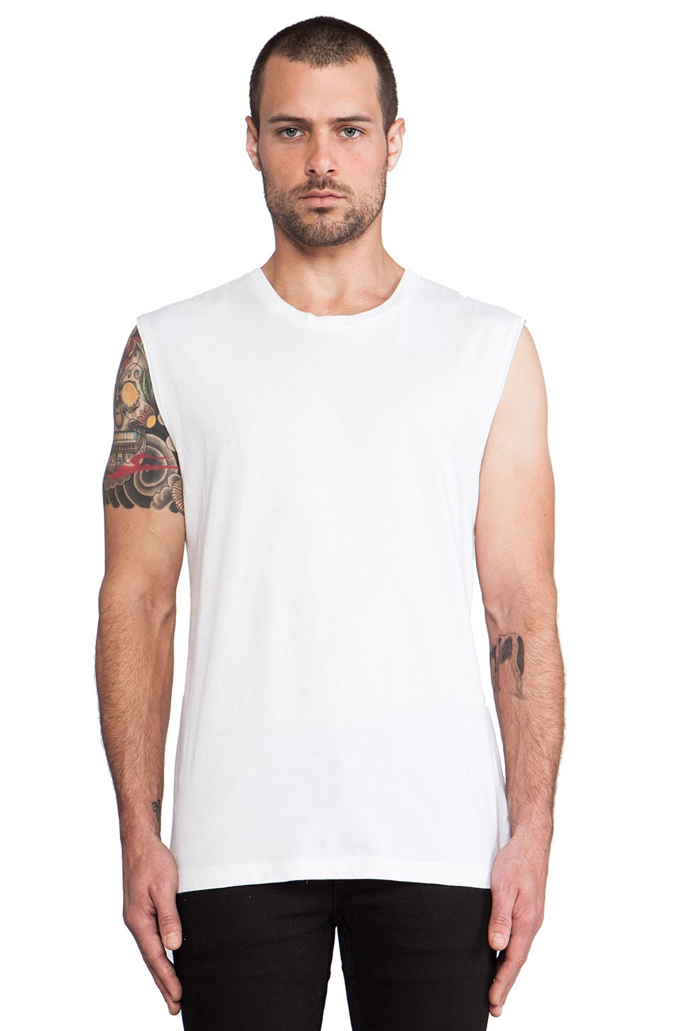 BLK DNM T-Shirt 40 in White