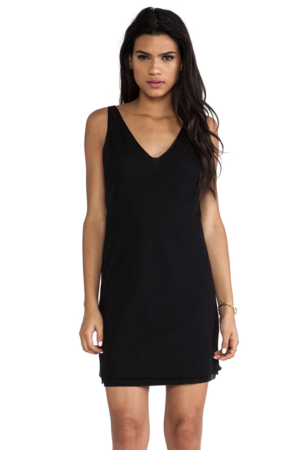BLK DNM Dress 28 in Black