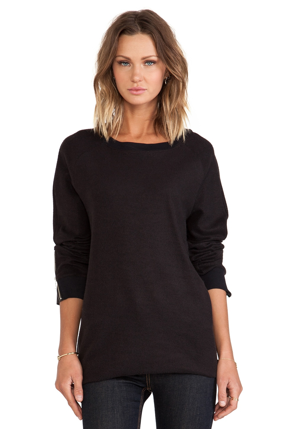 BLK DNM Sweatshirt 14 in Black