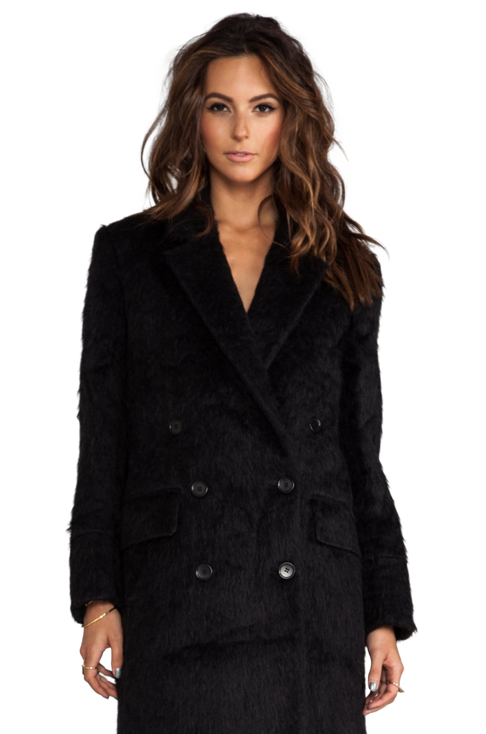 BLK DNM Coat 6 in Black
