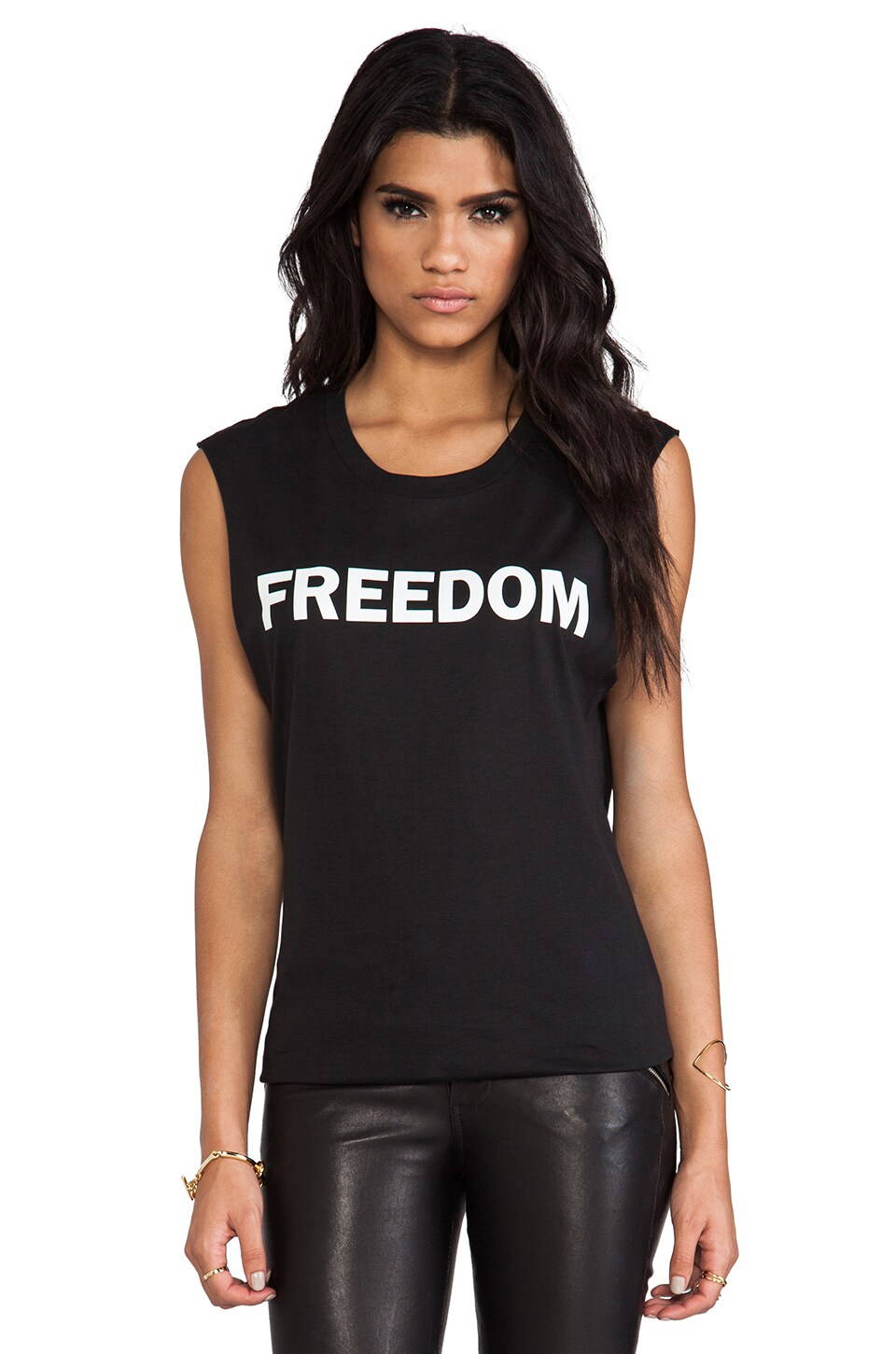 BLK DNM Freedom T-Shirt 28 in Black