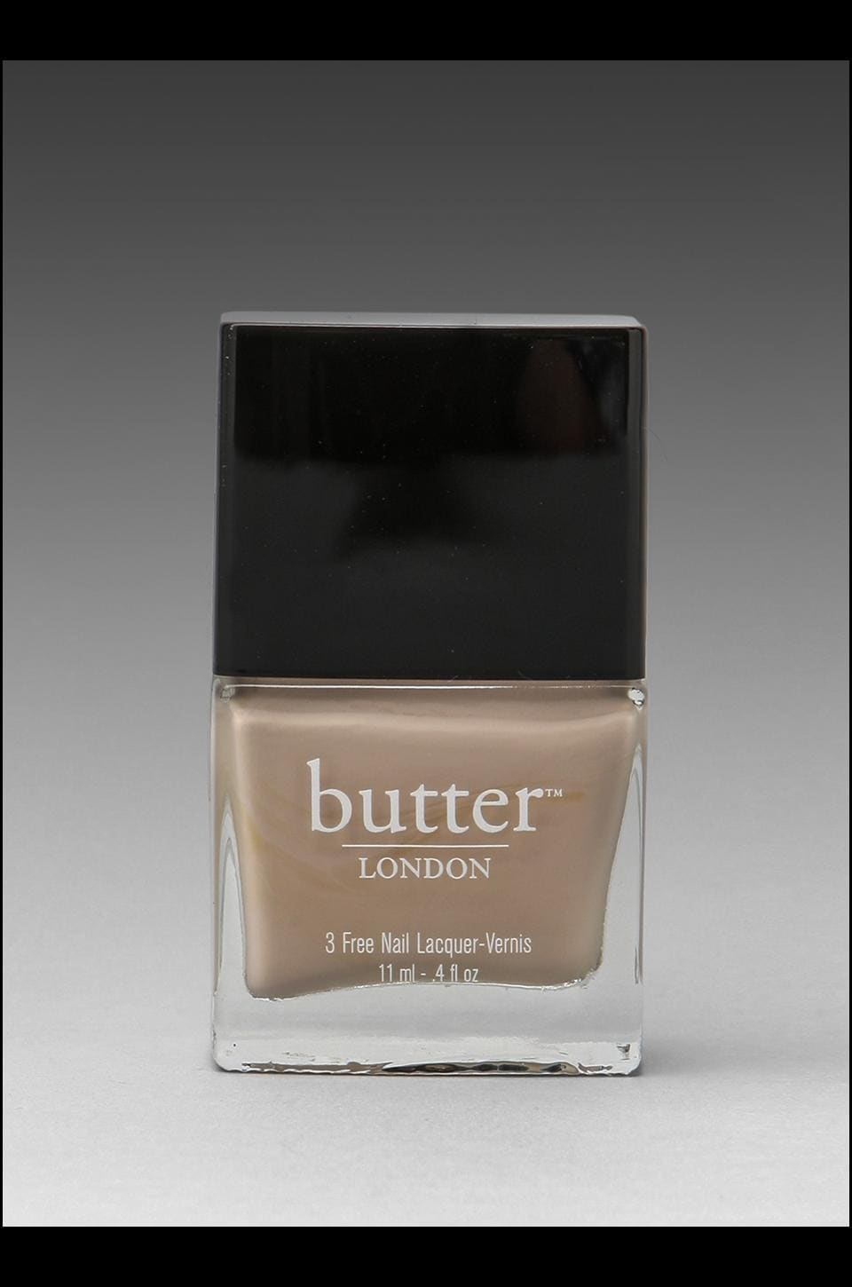 butter LONDON 3 Free Lacquer in Cuppa