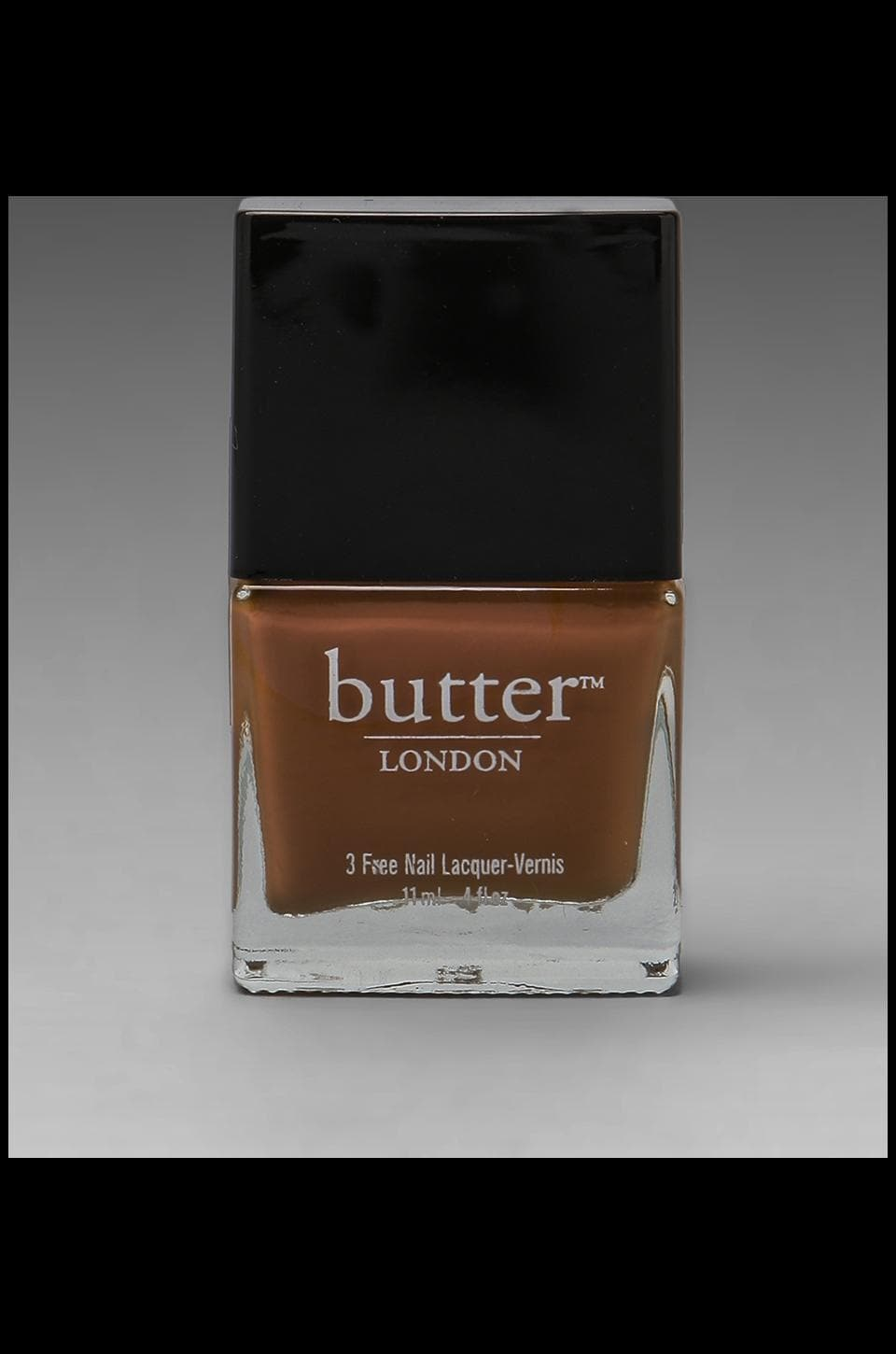 butter LONDON 3 Free Lacquer in Tea & Toast