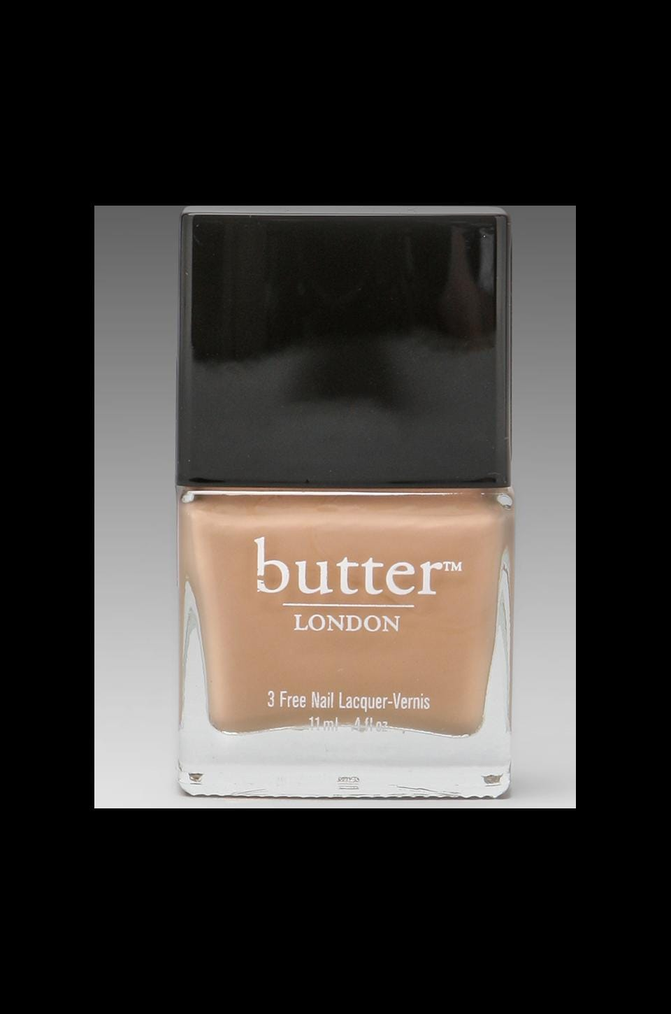 butter LONDON 3 Free Lacquer in Crumpet