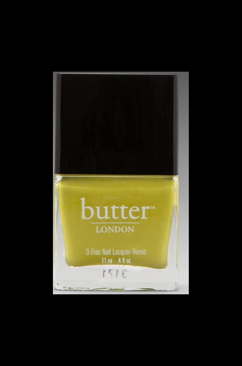 butter LONDON 3 Free Lacquer in Wellies