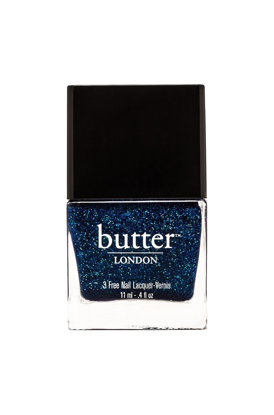 butter LONDON 3 Free Lacquer in Inky Six
