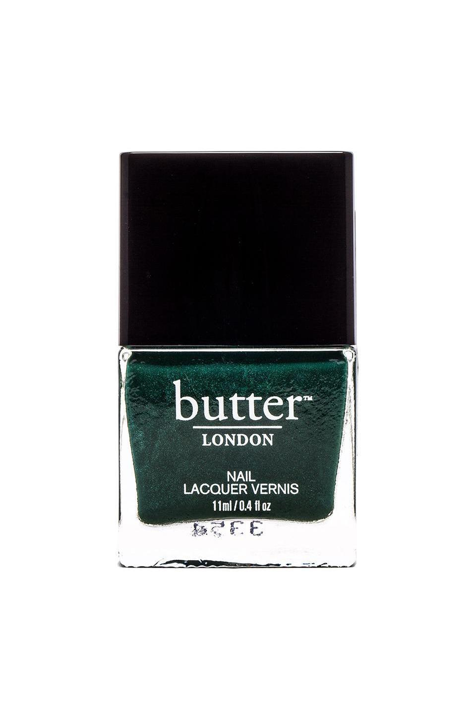 butter LONDON Nail Lacquer in British Racing Green